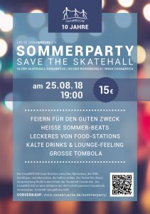 Flyer Sommerparty 2018